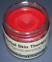 herbal skin therapy